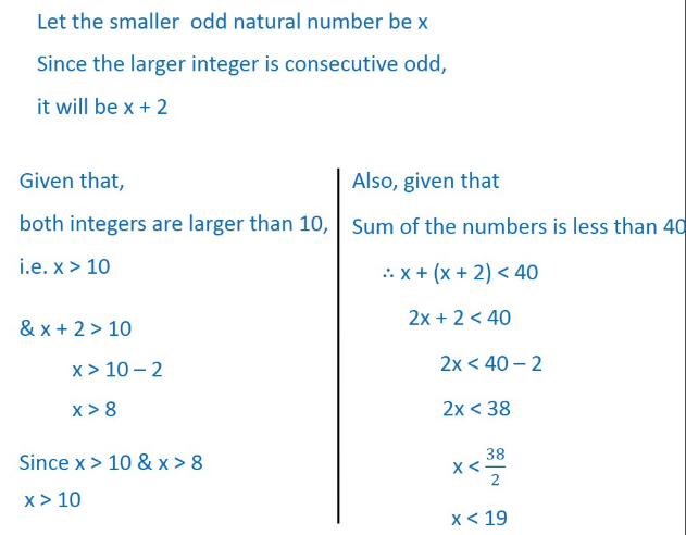 Find All Pairs Of Consecutive Odd Natural Numbersboth Of Which Are