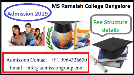 Ms Ramaiah Degree College Fee Structure